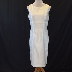 Spring Essentials Ivory Sleeveless Dress